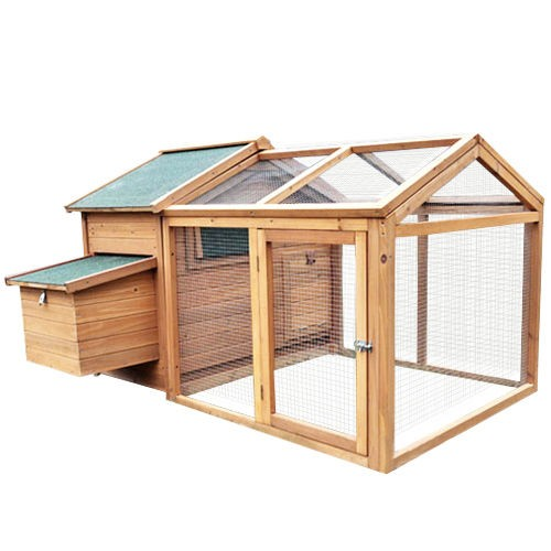 Deluxe Roomy Chicken Coop w/Run
